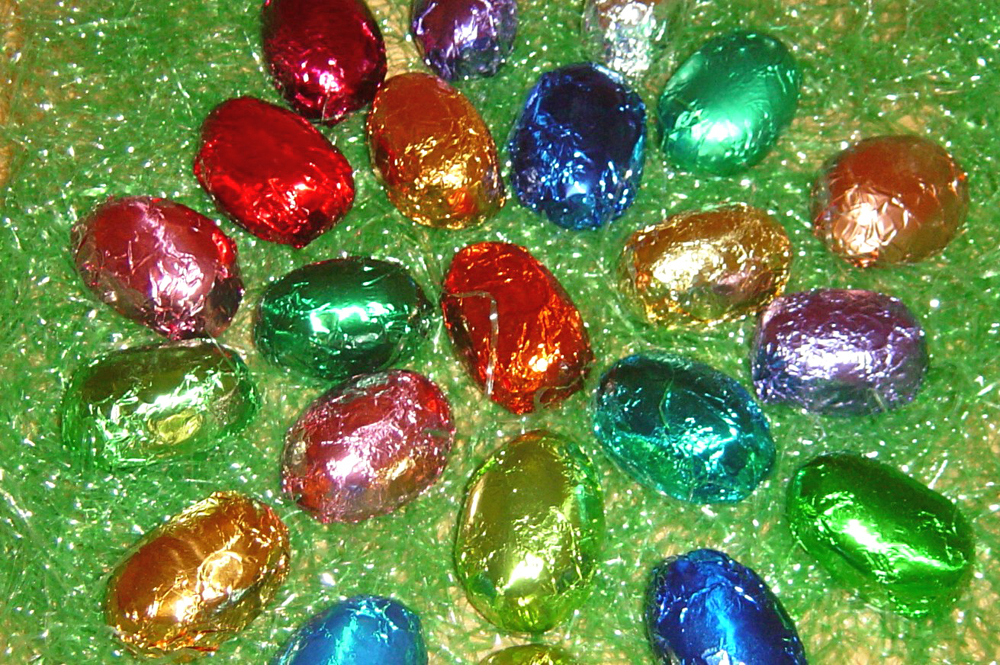 Fudge Easter Eggs