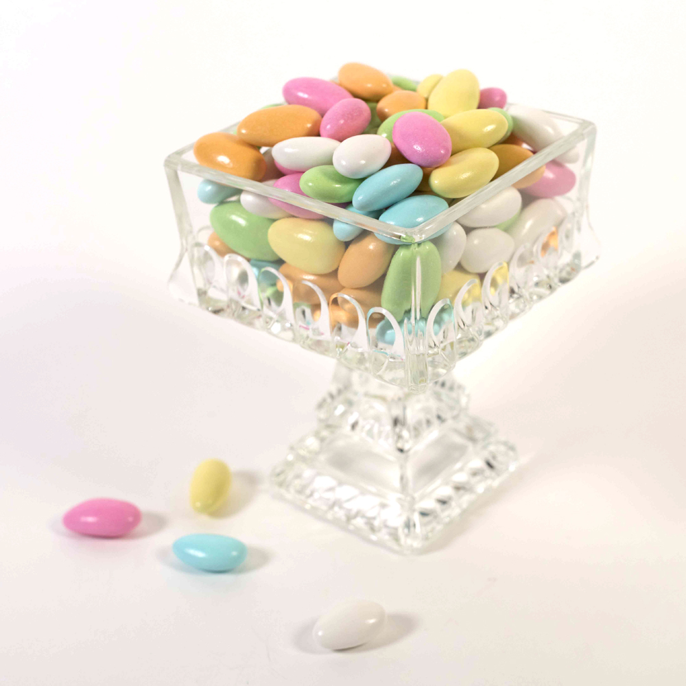 Jordan Almonds, Pastel - 8 oz. Bag