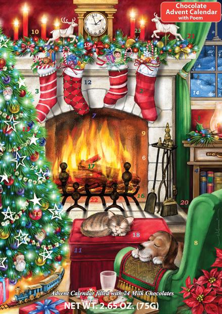 Cozy Christmas Chocolate Advent Calendar