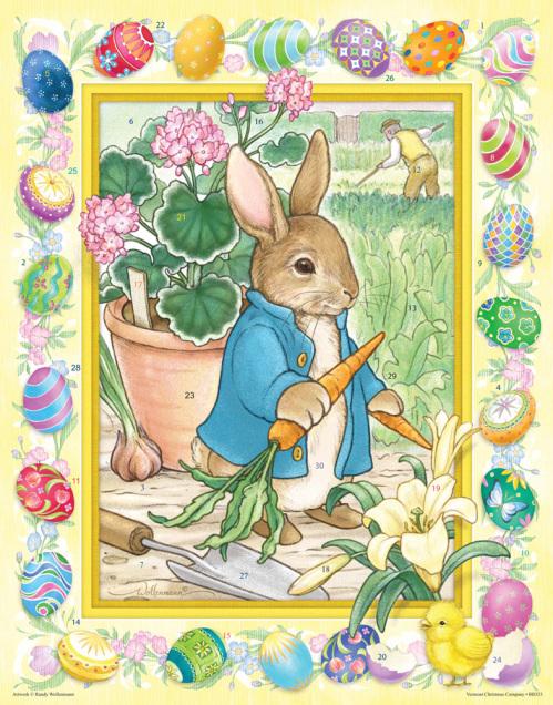 Easter Bunny Countdown Calendar
