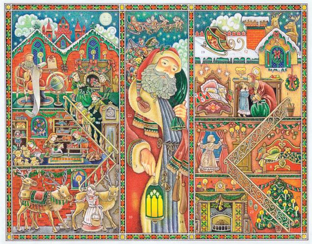 All Through the House Advent Calendar