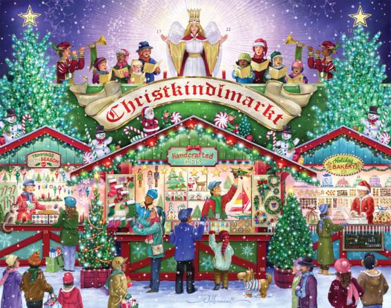 Christkindlmarkt Advent Calendar