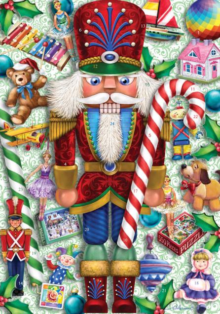A Nutcracker's Christmas Advent Calendar