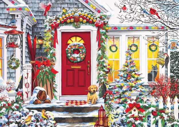 Box Winter Welcome Christmas Cards