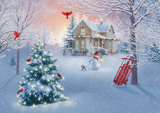 Home for Christmas Christmas Cards
