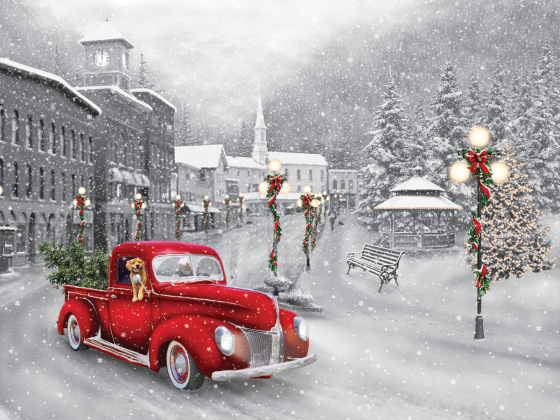 Holiday Ride Jigsaw Puzzle