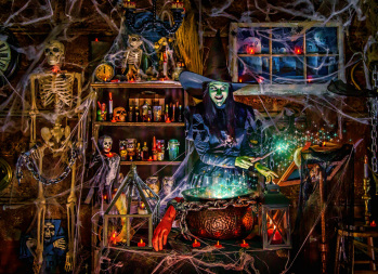 Witches' Brew Jigsaw Puzzle