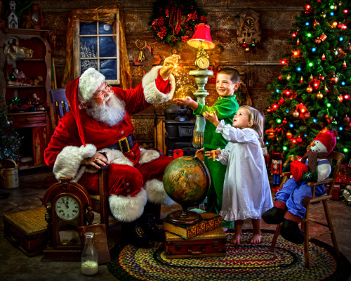 Santa's Magic Jigsaw Puzzle