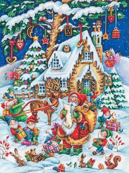 Santa's Helpers Jigsaw Puzzle
