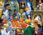 Haunted House Party Jigsaw Puzzle