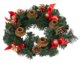 Case of 12 Berry Advent Wreath