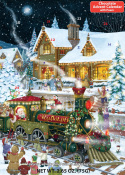 Case of 32 Whistle Stop Christmas Chocolate Advent Calendars