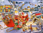 Santa & Friends Advent Calendar