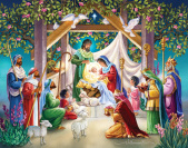 Magi at the Manger Advent Calendar