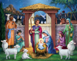 Holy Manger Advent Calendar