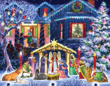 Nighttime Nativity Advent Calendar