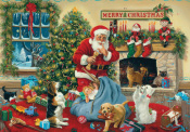 Santa's Beggars Advent Calendar
