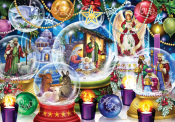 Nativity Snow Globes Advent Calendar
