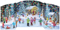 Holiday Skaters Advent Calendar