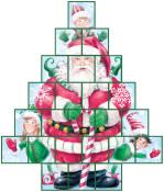 Secret Santa Treasure Box Advent Calendar