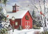 Box As Winter Calls Christmas Cards