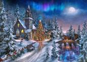 Box Peace on Earth Christmas Cards