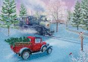Box Christmas Journey Christmas Cards