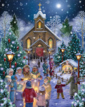 Midnight Mass Jigsaw Puzzle