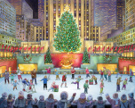 Rockefeller Center Jigsaw Puzzle