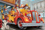 Fire Truck Pups Kid's Jigsaw Puzzle
