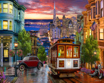 San Francisco Trolley Jigsaw Puzzle