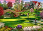 Golfer's Paradise Jigsaw Puzzle