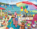 Day at the Beach Jigsaw Puzzle