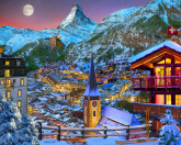 The Majestic Matterhorn Jigsaw Puzzle