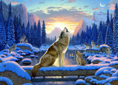 Wolf Song Jigsaw Puzzle