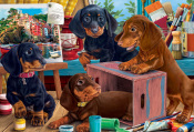 Studio Puppies Jigsaw Puzzle
