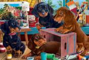 Studio Puppies Jigsaw Puzzle