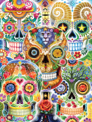 Sugar Skulls Jigsaw Puzzle