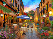 Biking Through Italy Jigsaw Puzzle