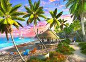 Paradise Sunset Jigsaw Puzzle