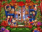 Ye Olde Christmas Shoppe Jigsaw Puzzle