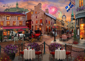 Old Montreal Jigsaw Puzzle