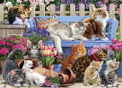 A Cat's Life Jigsaw Puzzle