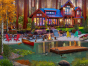 Cottage Life Jigsaw Puzzle