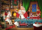 Santa's Toyworks Jigsaw Puzzle