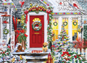 Winter Welcome Jigsaw Puzzle
