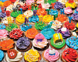 Birthday Cupcakes Jigsaw Puzzle