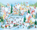 Elf Village Jigsaw Puzzle