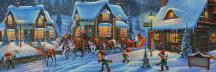 Santa on His Way Jigsaw Puzzle