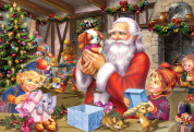 Santa & Friends Kid's Jigsaw Puzzle